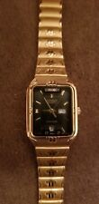 Gold Tone Black Dial Citizen Womens Watch 1032-R71217