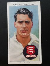 No.8 K. FARNES - CAMBRIDGE ESSEX & ENGLAND Cricketers 1938 by John Player 1938