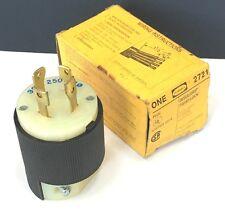 Hubbell 30A 3PH Twist Lock Plug 2721 >> UNUSED