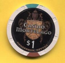 New listing $1 Casino MonteLago, at Lake Las Vegas, Henderson, Nv House Chip