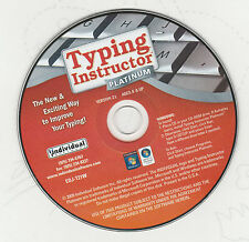 Typing Instructor Platinum Windows (10) version (UK English Version) Aes 8+