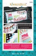 Kimberbell KD186 Happy Birthday Bench Pillow