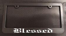 Blessed OE License Plate Frame Black - Choose Color!! faith jdm truck car