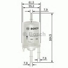 ENGINE FUEL FILTER OE QUALITY REPLACEMENT BOSCH F026403013