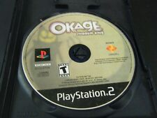 OKAGE: Shadow King (Sony PlayStation 2, 2001) - Disc Only!!!