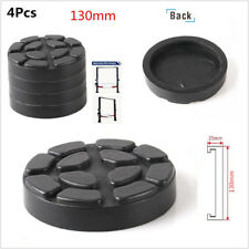 4 Pcs Black 130mm Diameter Car Off-Road Hoist Lift Accessories Rubber Arms Pads