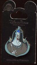 Villains Hades in Flames Bust Disney Pin