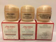 SHISEIDO Benefiance Wrinkle Smoothing Cream Size: 15 ml x 3 (Total: 45 ml)