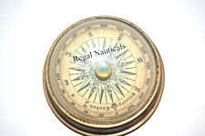 Antique Maritime Brass Lens 2.5'' Vintage Nautical Table Decorative Compass