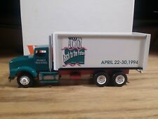 Winross Box Truck WXXI TV Auction Back to the Future Pearce Trucking 1:64