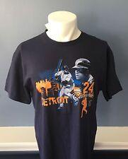 T-Shirt Detroit Tigers Miguel Cabrera  T-Shirt Blue Size M Detroit Tigers