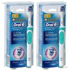Oral-B Vitality Trizone Electric Rechargeable Power Toothbrush Bundle 2-Pack NEW