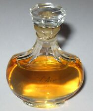 Vintage Nina Ricci L' Air Du Temps Lalique Perfume Bottle 1/2 OZ Sealed 3/4 Full