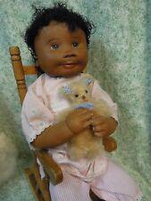 """den-158 Dianne Dengel doll; """"Daydreamin"""" - Ooak; 19"""" Aa; signed"""