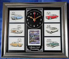 The Ford Cortina Story 62-82 Stunning Collector Cards Wall Clock