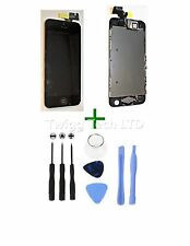 For iPhone 5S Black LCD Screen Complete + Tools - With Parts Prefitted Apple