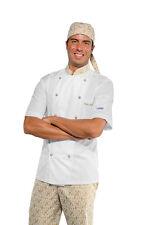 Chef Jacket Chef Extra Light White + Maori 95 short Sleeve Isacco Jacket 요리사 재킷