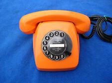 Post Telefon Wählscheibe  FeTAp 611-2a 70er Jahre orange