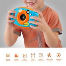 "AMKOV Mini Digital Camera 1.44"" Color LCD HD 5mp 4x Zoom for Children Kids Gift"