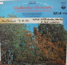 Tchaikovsky-The Seasons 33RPM a cycle of 12 compositions for orchestra 020517LLE