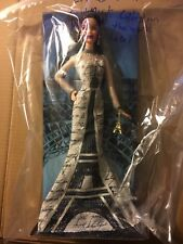 Mattel 🗼 Eiffel Tower Barbie Dolls of the World Collection Pink Label