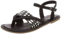 Toms 10011785: Women's Lexie Black Walking Sandals