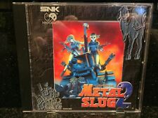 ENGLISH COLLECTORS COPY of Metal Slug 2 for Neo Geo CD & CDZ AES MVS