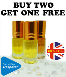 WHITE MUSK!!! 3ml PERFUME Oil Attar QUALITY LONG LASTING. House of Fragrance
