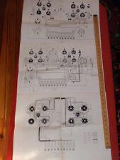 3 Vintage Prints / Illustrations / Pictorials Electronics Heathkit Tube Checker