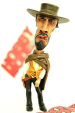 THE GOOD BAD AND UGLY CLINT EASTWOOD COWBOY PAINTED DEFORM SD RESIN MODEL FIGURE