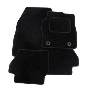 KIA CARENS 2013 ONWARDS BLACK TAILORED CAR MATS