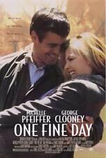 ONE FINE DAY Movie POSTER 27x40 Michelle Pfeiffer George Clooney Alex D. Linz