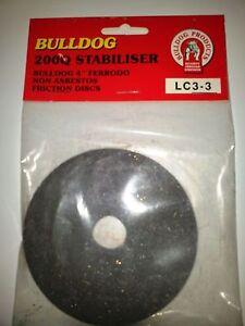 Friction Discs / Pads LC3-3 200Q Bulldog Stabiliser