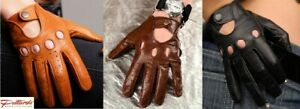 BRAND NEW! Classic Statement Driving Leather Gloves! BRAND NEW