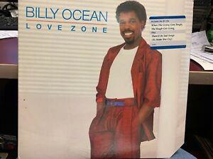 BILLY OCEAN LOVE ZONE LP 1986 DJ PROMO
