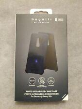 Original Bugatti Porto Snap Case für Samsung Galaxy S 9 Plus-blau