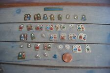 Vintage The Vaudeville Duo Stickers Sanrio Eddy And Emmy Scrapbooking Crafting