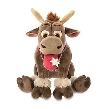 """FROZEN SVEN HOLIDAY PLUSH REINDEER 14"""" NWT GENUINE AUTHENTIC DISNEY STORE PATCH"""