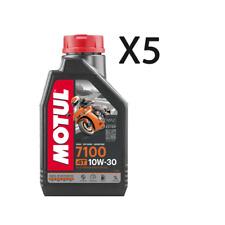 Motul 7100 4T 10W-30 1L Olio Sintetico per Moto