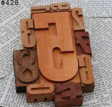 0-9 Zahlenmix Holzlettern Holzzahlen Stempel Lettern Ziffern Zahl MIX Buchstaben