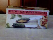Gourmet Knife Spreaders Set Of 4 New