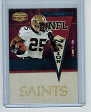 2010 GRIDIRION GEAR REGGIE BUSH #29 NFL NATION INSERT 01/25 FIRST ONE!!!! SAINTS