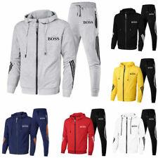 Herren Jogging Sweatshirt Jogginganzug Sportanzug Trainingsanzug Hoodie + Hose