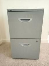 2 drawer metal filing cabinet