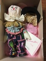 Madame Alexander Doll 8 inch Wizard of Oz Series Scarecrow with original box