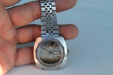 Vintage Old Swiss Made Dugena 3338 Tropica Automatic Man Wrist Watch.