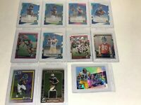 2017 Donruss Optic Football Lot of 11 Cards Rated Rookie Threads Pink Lime & RC'