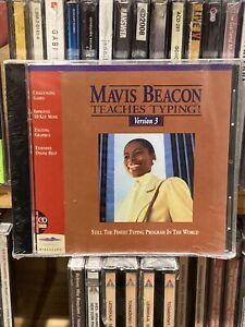 Vtg Mavis Beacon Teaches Typing Version 3 For DOS NEW Sealed PC Big Box Retro