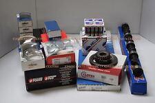 Mercruiser Chevy 5.7L 350 Marine MASTER Engine Kit Pistons Cam 2PC rear bearings