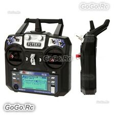 FS-i6 AFHDS 2A 2.4GHz 6CH Radio Transmitter & FS-iA6 Receiver for RC Heli Drone